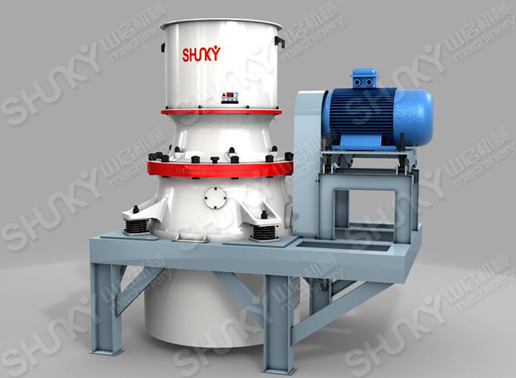 DG系列单缸液压圆锥式破碎机