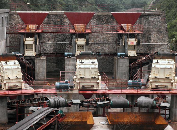 陕西宝鸡花岗岩时产600吨混凝土用料生产线