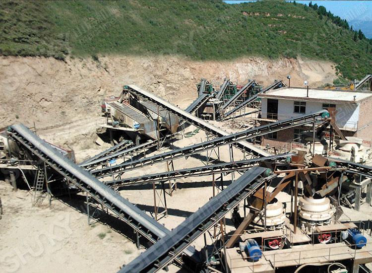 河南洛阳铁矿石生产线